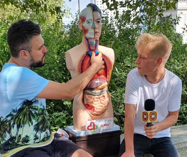 Sonda uliczna Matura To Bzdura, czyli co Polacy wiedzą o zdrowiu i anatomii?